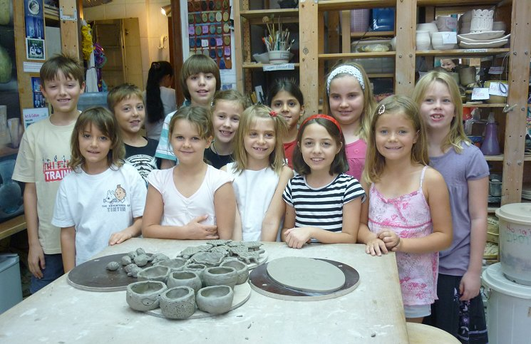 Children's Pottery Birthday Parties