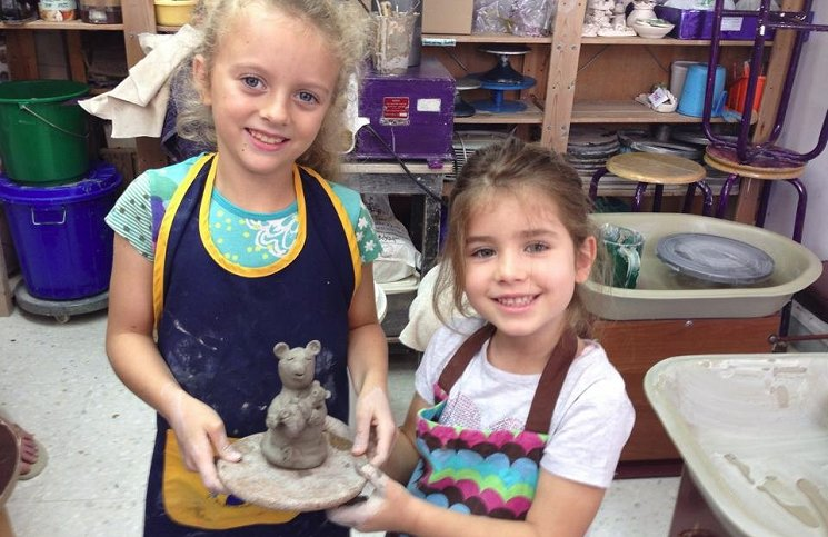 Childrens weekly pottery classes in Abu Dhabi